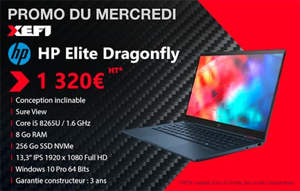 liberte ordinateur portable HP Elite dragonfly 9VZ72EA xefi tours