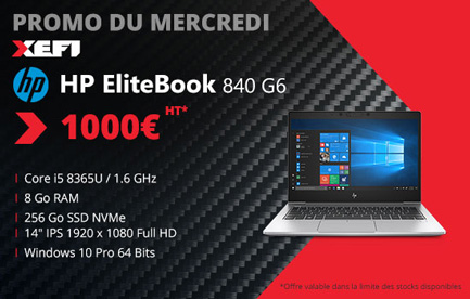 reduction exceptionnelle sur ordinateur portable hp elitebook 840 g6 xefi tours