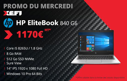 promotion exceptionnelle sur le hp elitebook 840 g6 ssd512go ordinateur portable xefi tours