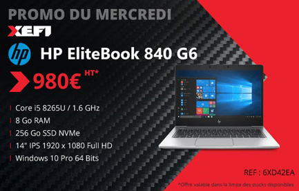 promotion exceptionnelle sur le hp elitebook 840 g6 ordinateur portable xefi tours